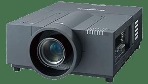 Der Panasonic PT EX12K kann in Kombination mit einer Gain 26 Hellraumleinwand als Tageslicht-Projektor verwendet werden.