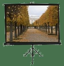 Tripod Stativ-Rolloleinwand für mobile Nutzung