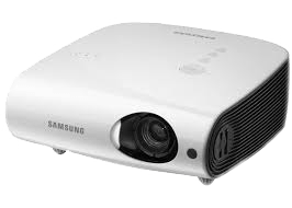 Samsung SP L250W XGA LCD Projektor mit VGA und FBAS Eingang