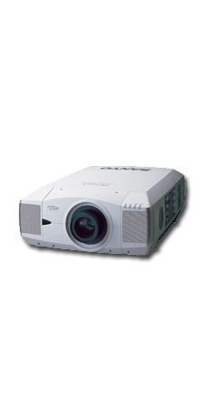 Der Sanyo XF45 XGA LCD Projektor war der erste LCD Beamer der mit 10.000 ANSI Lumen beworben wurde.