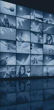 LED, LCD und Plasmadisplays für Digitalsignage, POI und POS, als Begrüßungsdisplay oder aber zum Einsatz in Museen, Ausstellungen aber auch in Schaufenstern, Shopping Malls oder Shops.