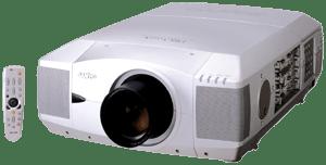 Der Sanyo PLC-XF45 XGA LCD Projektor kann in Kombination mit einer Hellraumleinwand auch in Umgebungen mit hohem Streulichtanteil genutzt werden.