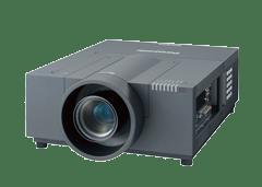 Der Panasonic PT EX12k XGA LCD Projektor sollte aufgrund seiner geringen Geräuschentwicklung insbesondere für leise Veranstaltungen geliehen werden und kann in Verbindung mit Hellraumleinwänden auch als Tageslichtprojektor überzeugen.