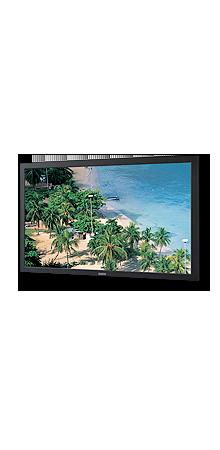 Die 42 Zoll FullHD auflösenden LCD Bildschirme von Sanyo ermöglichen dank 500 cd/m² auch in Umgebungen mit Streulichteinfall eine gut lesbare Darstellung.